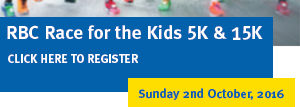 RBC Race for the Kids 5k and 15k