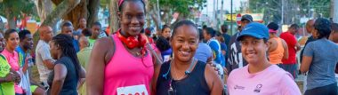 See Pics from Maraval 5k