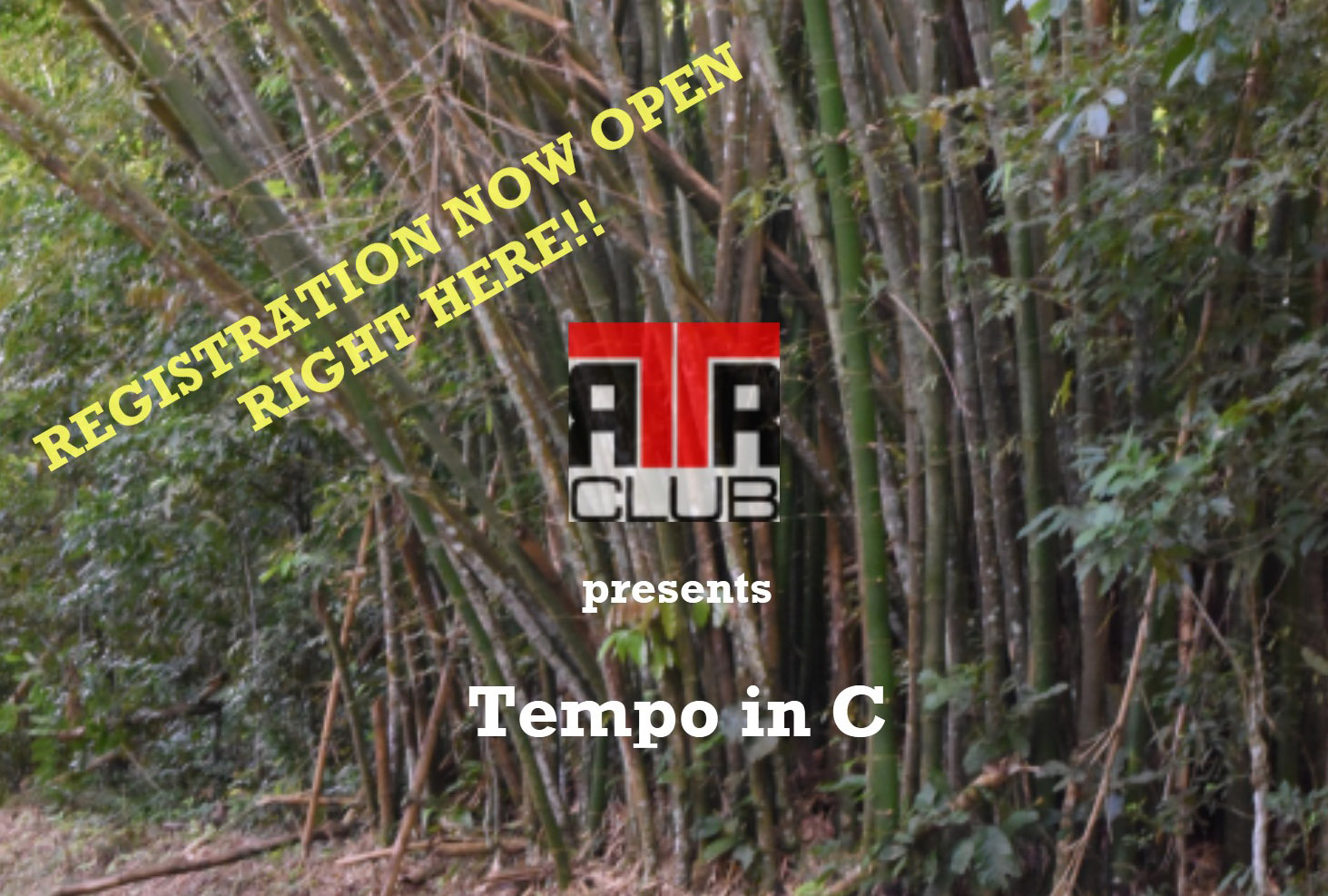 TTRRC is back!!  REGISTER HERE