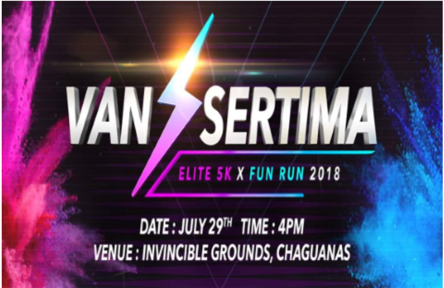 Van Sertima Elite 5k & Fun Run 2018