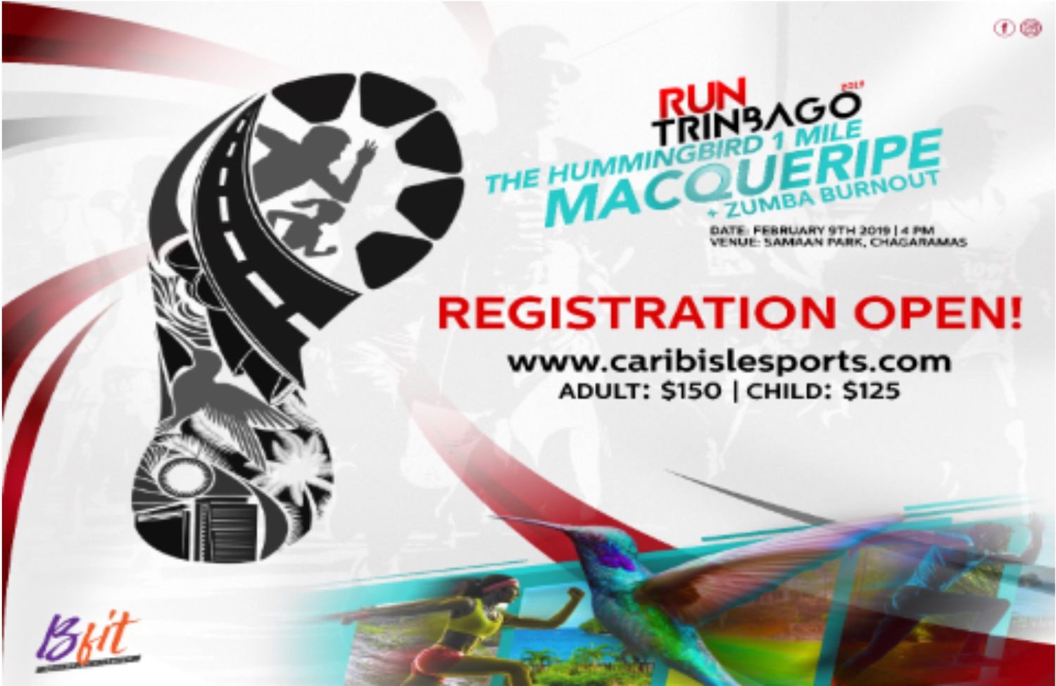 T&T's Biggest Health Initiative is finally here!  RUN TRINBAGO