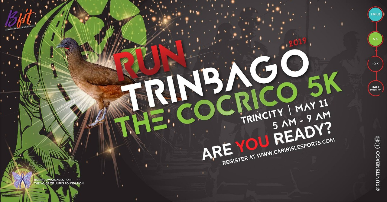 Run Trinbago Cocrico 5k - REGISTRATION OPEN