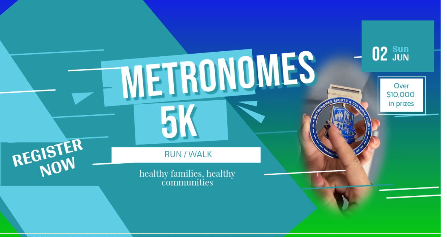 Metronomes 5k - SOLD OUT