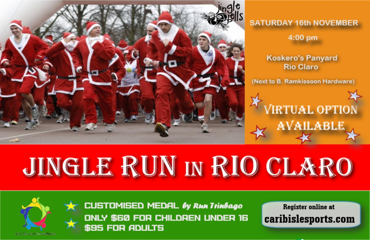 Jingle Run in Rio Claro