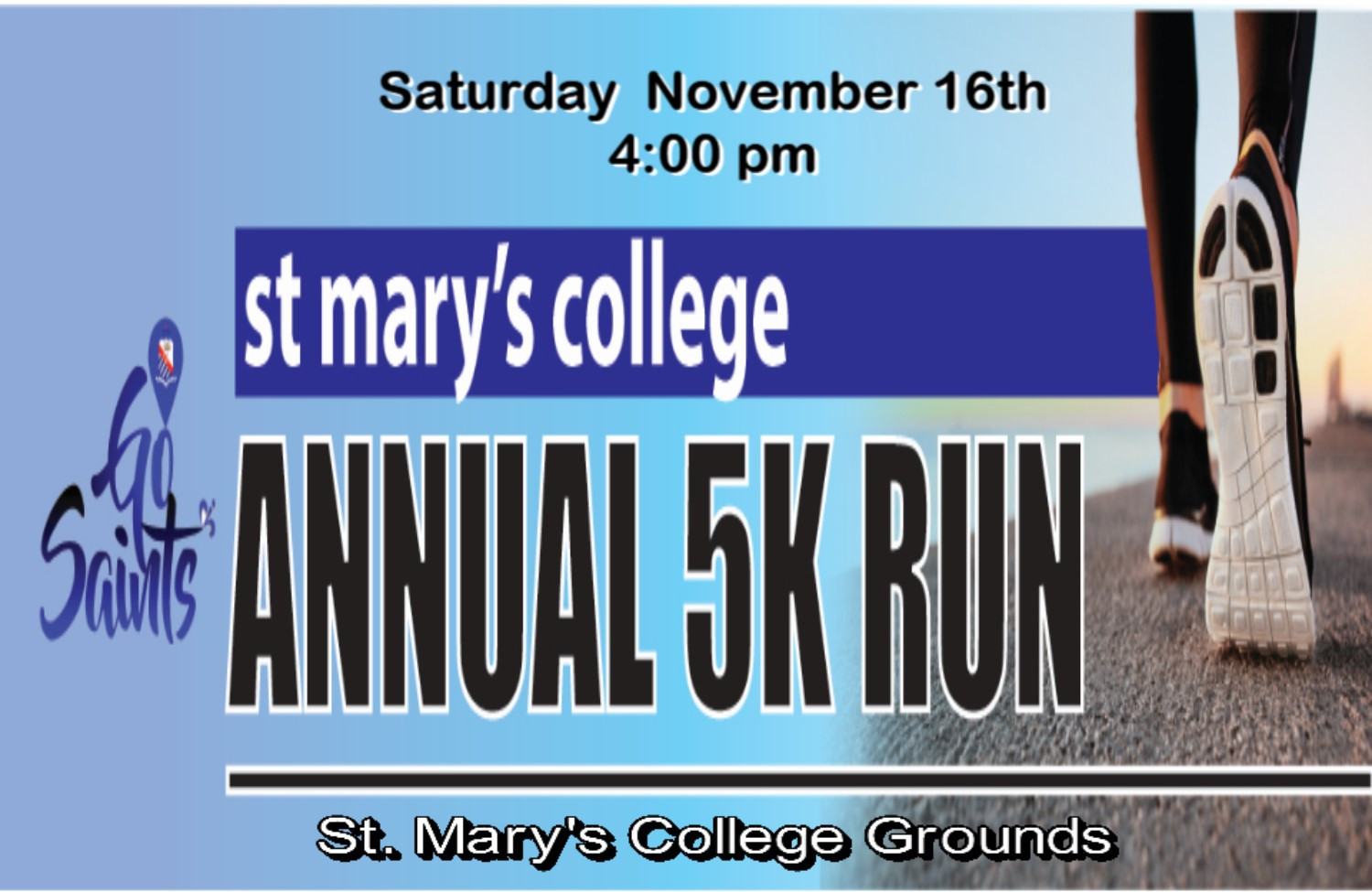 St. Mary's College 5k RESULTS